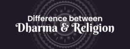 Difference between Dharma and Religion