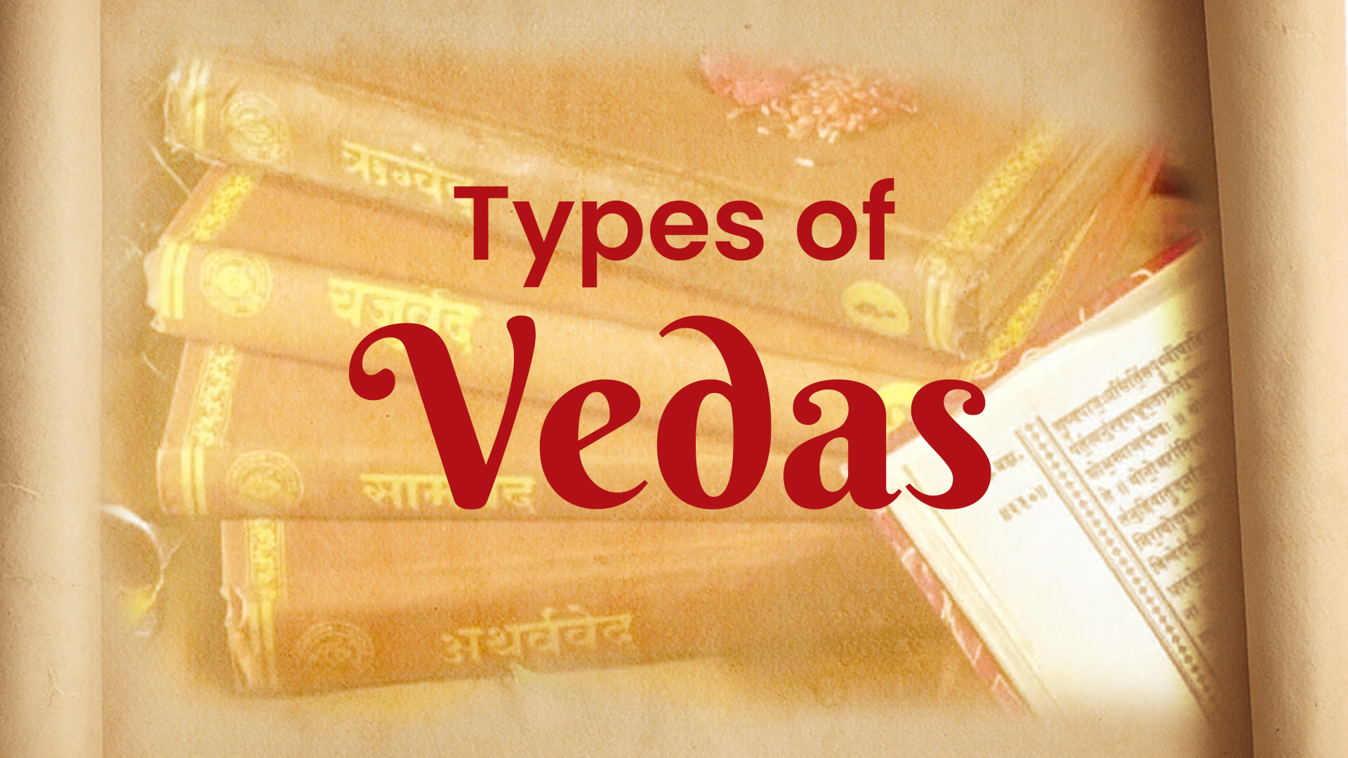 types of vedas